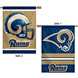 St. Louis Rams Official NFL 28''x40'' Banner Flag by Wincraft