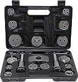 Kraftmann BGS Technic Pro + Lot d'outils pour tonifiantes (Réglage) Frein pistons–Coffret contenant 18pièces