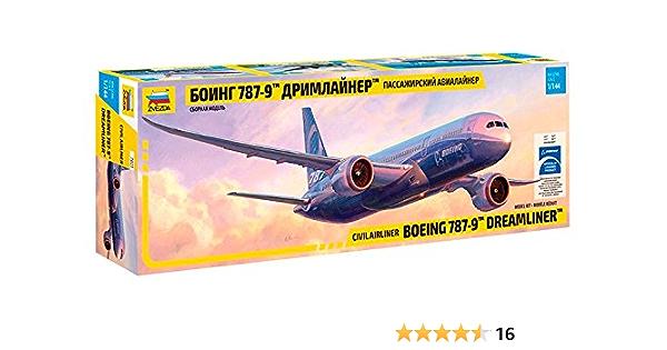 Model Building KIT Zvezda ZVE7020 1:144 Airbus A350-1000 Airliner