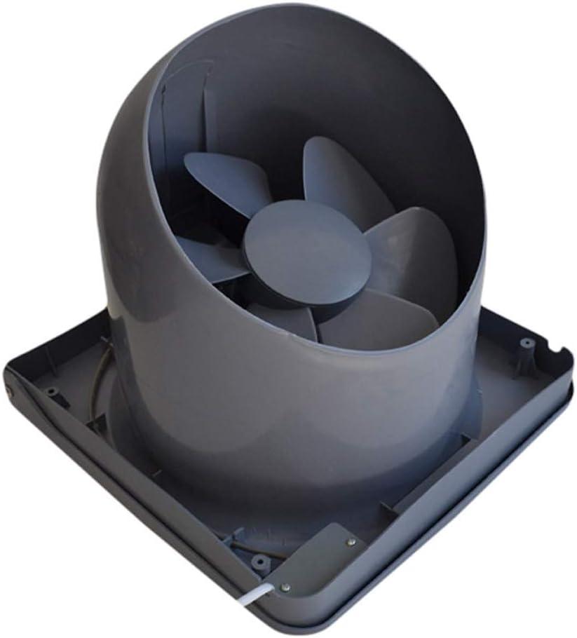 Ventilador de ventilación doméstico Voltear Extractor De 10 Pulgadas, Ventilador De Ventilación De La Cocina Campana Extractora Potente Ventilador De La Ventana Tipo Silencioso De Escape De Aire Fuert