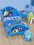 Monsters Inc University 4 in 1 Junior Bundle Bed Set (Duvet, Pillow, Covers)