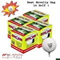 Exploding Golf Ball Four Pack Model: