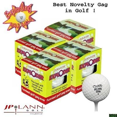Exploding Golf Ball Four Pack Model: