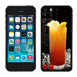 Beautiful Custom Designed iPhone 5C Phone Case For Orange Juice Phone Case Cover