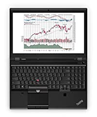 """Lenovo 15.6"""" ThinkPad P50 Mobile Workstation  The Lenovo 15.6"""" ThinkPad P50 Mobile Workstation is a notebook that is suited for CAD and design workflows while you are on the road. It comes packed with an Intel Xeon E3-1505M v5 processor along..."""