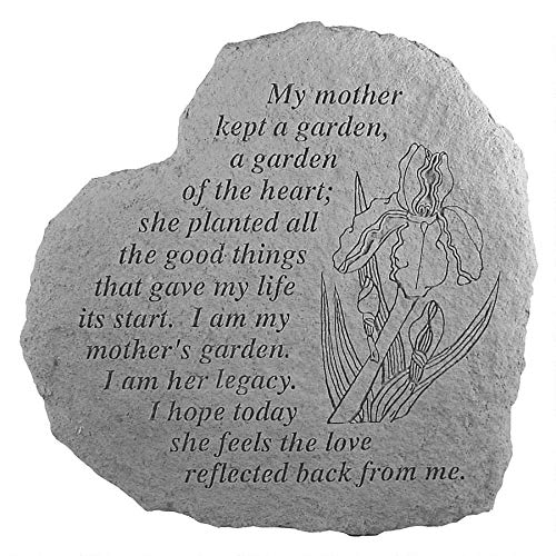 - Design Toscano Mother's Garden: Cast Stone Memorial Garden Marker
