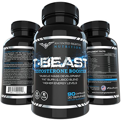 T Beast Testosterone Increase Strength capsules product image