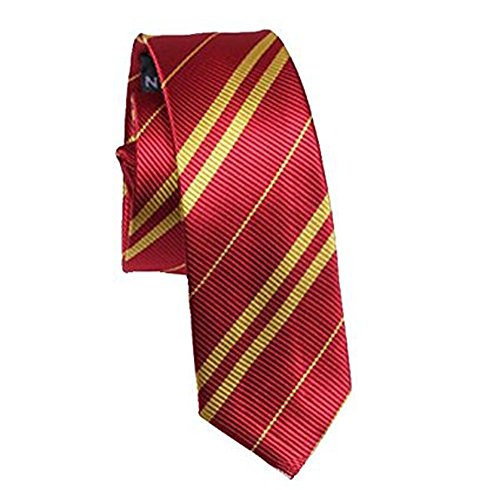 [Dress Shirt Tie Adult and Kids Halloween Costume Cosplay Accessoy USA (Gryffindor No Icon)] (Red Halloween Kids Costumes)