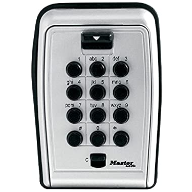Master Lock 5423D Push Button Wall Mount Key Safe