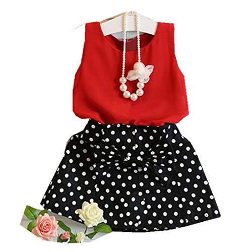 hot-sale1-6-years-old-girls-vest-pleated-dress-two-pieces-set-clothes-children-skirt-suit-red-5-6yea