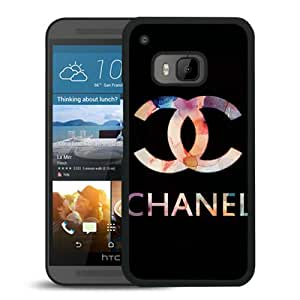 Chanel 38 Black High Quality Custom HTC ONE M9 Protective Phone Case
