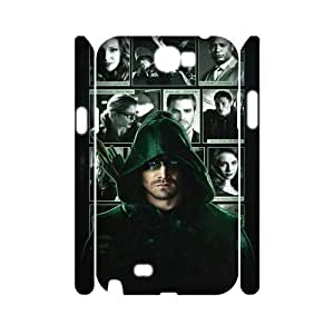 C-EUR Green Arrow Customized Hard 3D Case For Samsung Galaxy Note 2 N7100