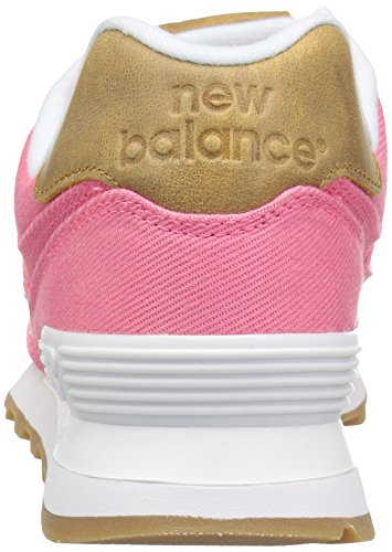 New-Balance-Womens-WL574-Canvas-Pack-Sneaker-Solar-PinkBeeswax-95-B-US