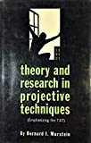 img - for Theory and Research in Projective Techniques (Emphasizing the TAT) book / textbook / text book