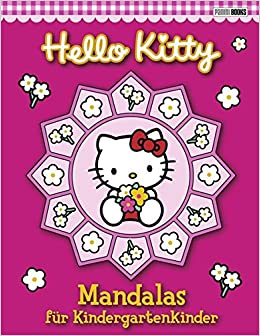 Hello Kitty Mandalabuch Mandalas Für Kindergartenkinder Amazon De