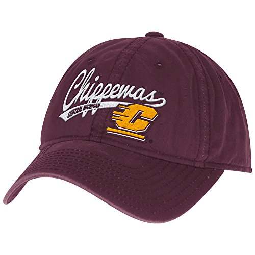 adidas NCAA Central Michigan Chippewas Women's Adjustable Slouch Cap, One Size, (Womens Adjustable Slouch Cap)