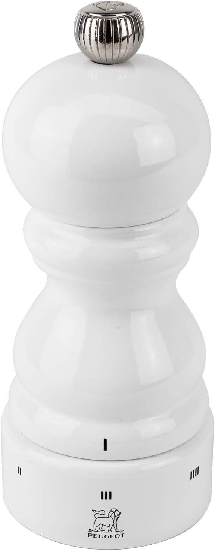 White Lacquer Peugeot 18 cm Paris u select Pepper Mill
