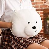 WATOP Stuffed Animals - Teddy Bears    35cm we Bare Bears Plush Pillow Soft Cute Cartoon Bear Stuffed Animal handwarm Sofa Decoration Cushion Doll Toy Kids Presents