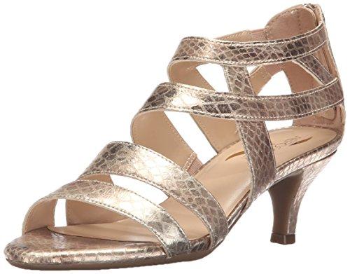 Aerosoles Womens Masquerade Dress Sandal, Gold Snake, 6 M Us  11Street Malaysia -8231