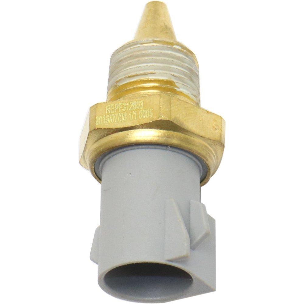 Evan-Fischer EVA4596041610 Coolant Temperature Sensor for 95 Ford Contour Pin type 2-prong male terminal