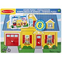 Melissa & Doug- Around The House Sound Puzzle (10734)