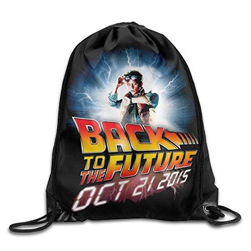 Drawstring Backpack Bag Back To The