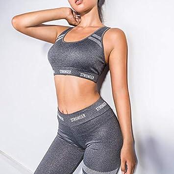 Ayujia Conjunto De Yoga para Mujer Traje De Gimnasia Gym ...
