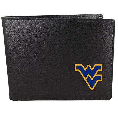 (Siskiyou NCAA West Virginia Mountaineers Bi-Fold Wallet, Black)