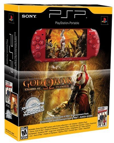 Amazon com: PlayStation Portable Limited Edition God of War