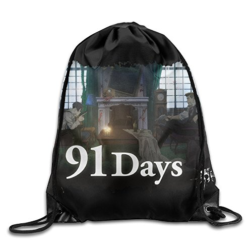Price comparison product image Anime TV 91 Days Drawstring Backpack Bag