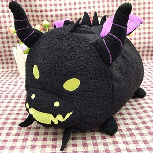 BoldType S-T s um - Cute Rare Maleficent Dragon Soft Anime Tsum Tsum Plush Pillow Cushion Toy Doll Collection 1 PCs -