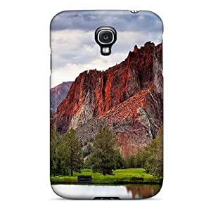 [qkaJn2336klLPG] - New Beautiful Mountain By A Pond Protective Galaxy S4 Classic Hardshell Case