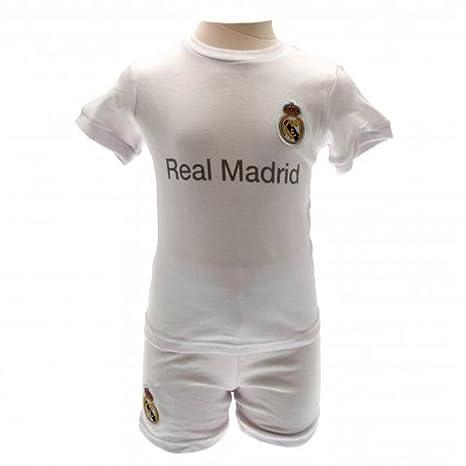 Bebé ropa – oficial Real Madrid FC bebé camisa y corto Set (3 – 6