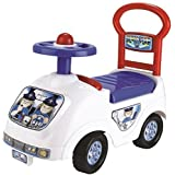 TODDLER INFANT RIDE ON POLICE COP CAR VEHICLE TRUCK KIDS CHILDRENS PUSH ALONG BOYS GIRLS TOY XMAS GIFT
