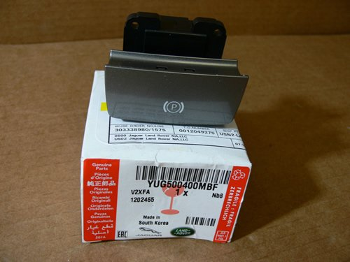 Genuine LAND ROVER PARKING BRAKE SWITCH RANGE ROVER SPORT 05-09 YUG500400MBF