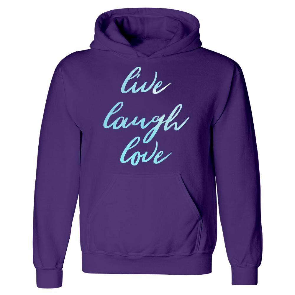 Live Laugh Love Motivation Goals Positivity Hoodie