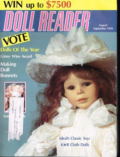 Doll Reader Magazine (August September 1990) (Magazine Reader Doll)