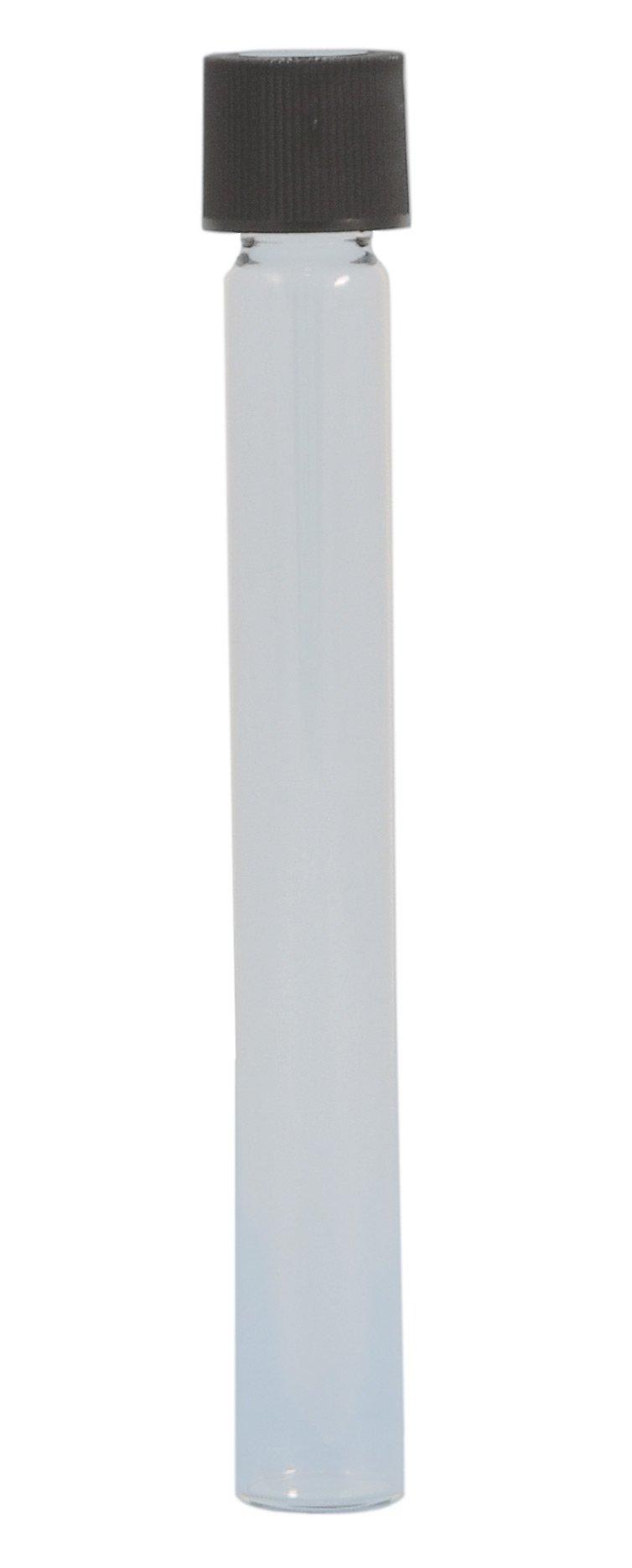 Tube, Glass, with Polypropylene Screw Cap, Empty, 16x125mm, 1000 per Box, by Comar Glass