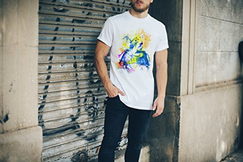 Samurai I Herren T- Shirt , Stylisch aus Paul Sinus Aquarell Color