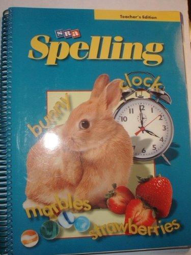 Read Online SRA Spelling: Teacher Edition Grade 3 PDF