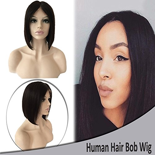 Lace Front Human Hair Bob Wigs U Part Lace Wig for Black Women Ombre Blonde Short Wigs