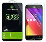 Asus Zenfone 2 (5.5 inch) [ZE550ML / ZE551ML] Screen Protector, Dmax Armor [Tempered Glass] 0.3mm 9H Hardness, Anti-Scratch, Anti-Fingerprint, Bubble Free, Ultra-clear
