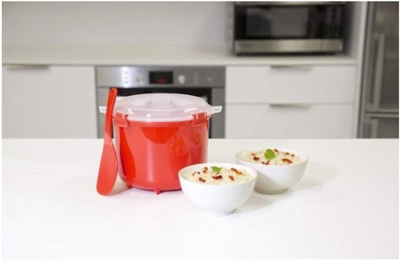 Amazon.com: Cocedor de arroz Microondas Multicooker sistema ...