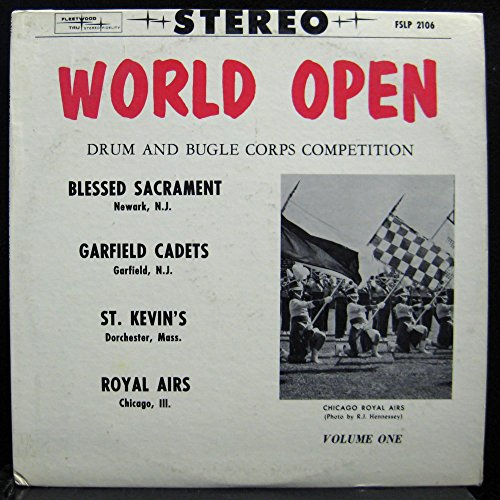 World Open Drum and Bugle Corps Competition Volume (Competition Drum)