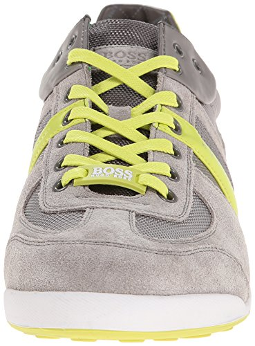 Hugo Boss Akeen Men's Sneakers In Open Blue (50247604-460) Medium Grey outlet original countdown package online huge surprise cheap price cheap good selling cheap fast delivery Iw3Ouroul