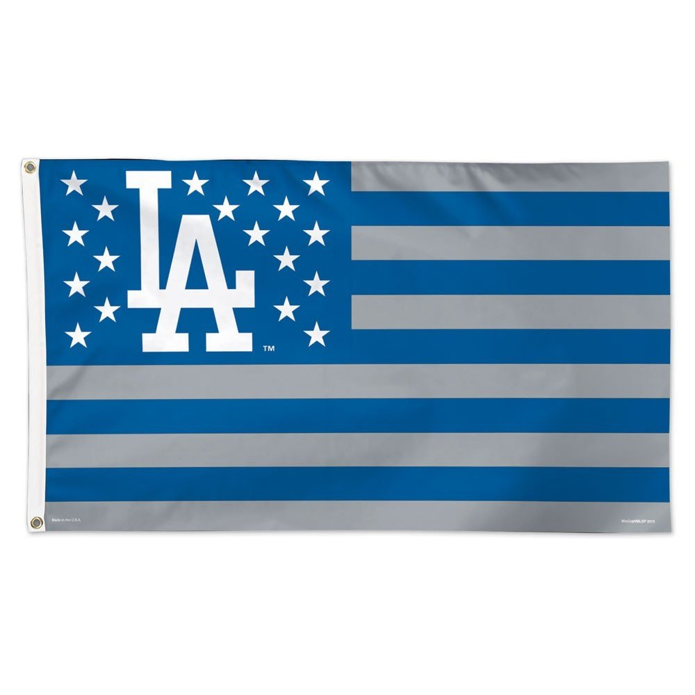 3 x 5 WinCraft MLB Los Angeles Dodgers 02708115 Deluxe Flag