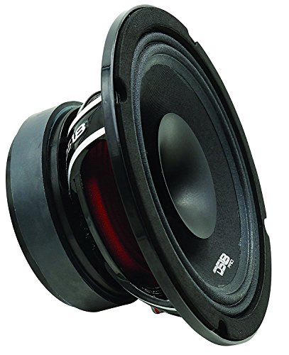 DS18 PRO-HYBRID8 8-Inch 400 W Single Car Audio Mid Range Coaxial Speaker