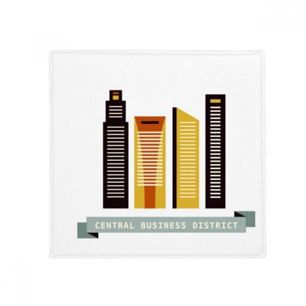 DIYthinker Singapore Central Business District Anti-Slip Floor Pet Mat Square Home Kitchen Door 80Cm Gift