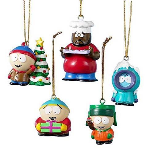 South Park Kurt Adler 5-Piece Resin Miniature Ornament Set