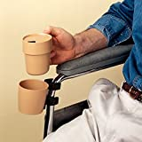 Cup and Holder for Wheelchair - Model 1139